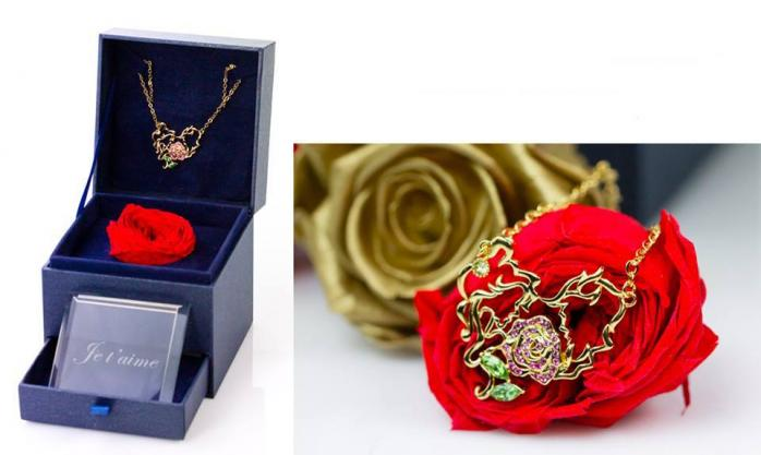 Coffret « Rose & Crystal »