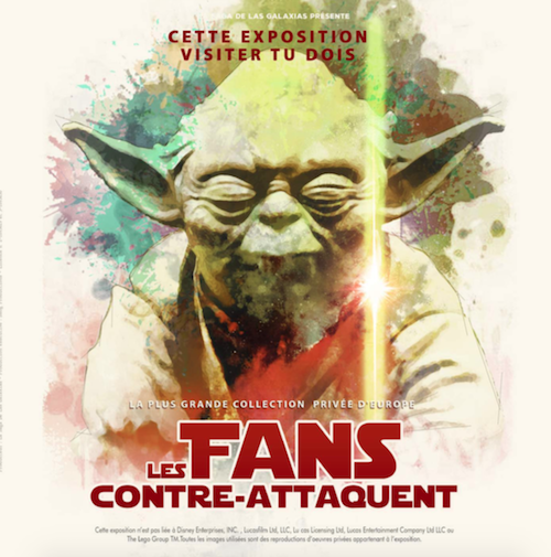 Affiche star wars les fans contre attaquent 1