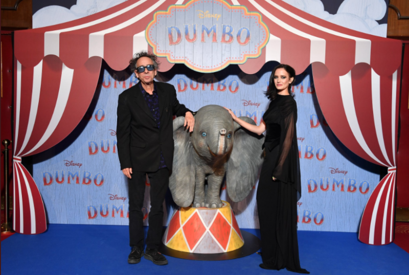 DUMBO - Tim Burton Eva Green