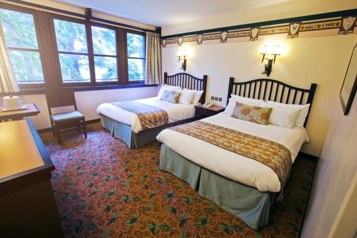 Chambre sequoia lodge disney