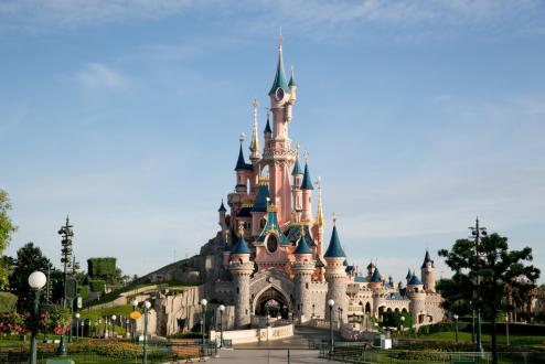 Chateau disneyland paris 1