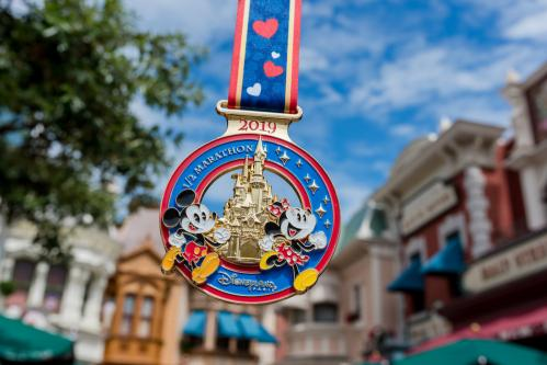 Disneyland paris run weekend 2019 demimarathon