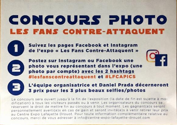 Expo star wars les fans contre attaquent concours photo