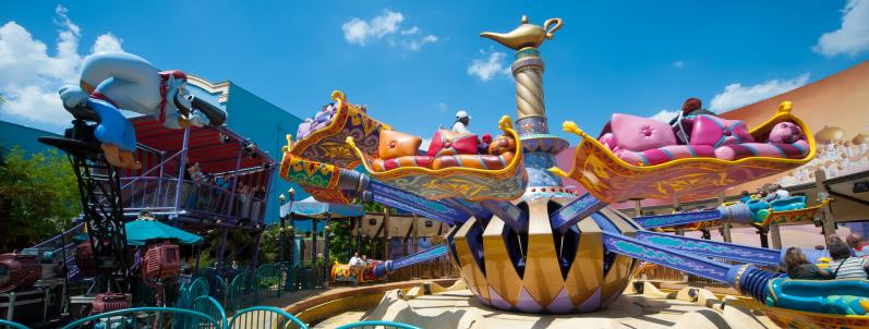 Les Tapis Volants - Flying Carpets Over Agrabah_Disneyland Paris
