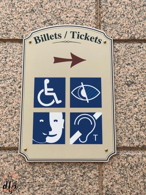 Handicap Accessibilité Disneyland Paris