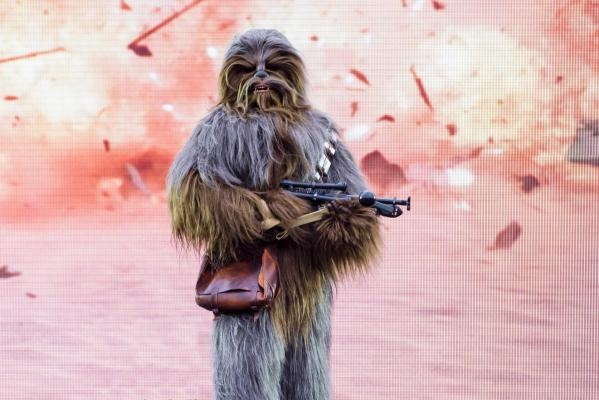 Chewbacca Disneyland paris