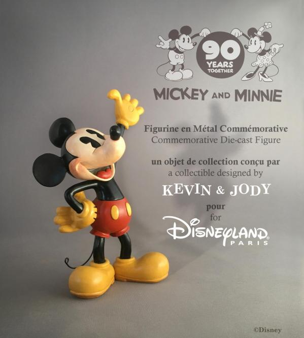 Produit collector Mickey90 Figurine
