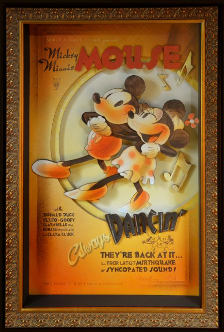 Tableau collector Mickey90 Figurine