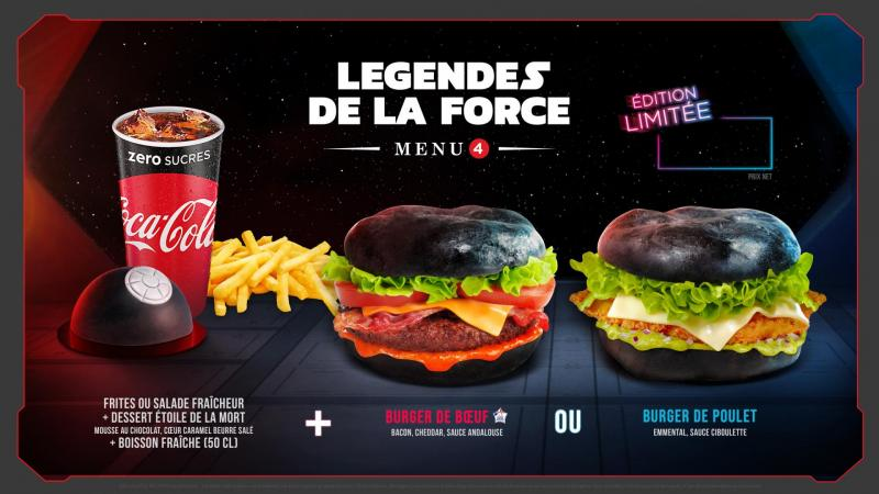 Legends of the force menu