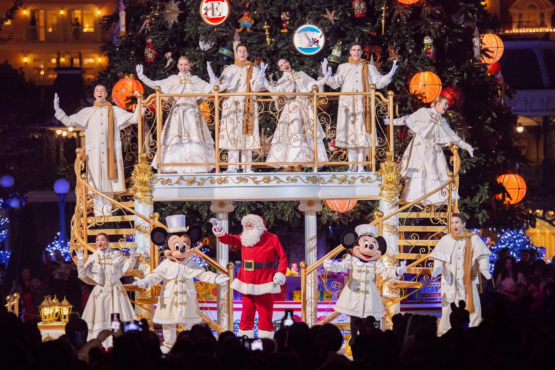 Noel enchante disney