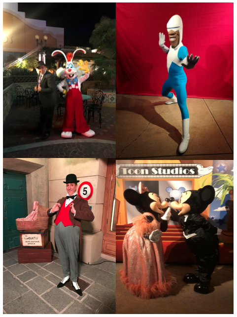 Personnages disney loves jazz