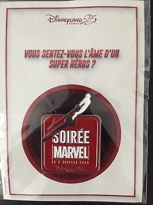 Pin's Soirée Marvel Disneyland Paris