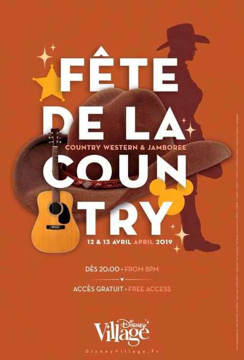 Programme fe te de la country 2019 disney village
