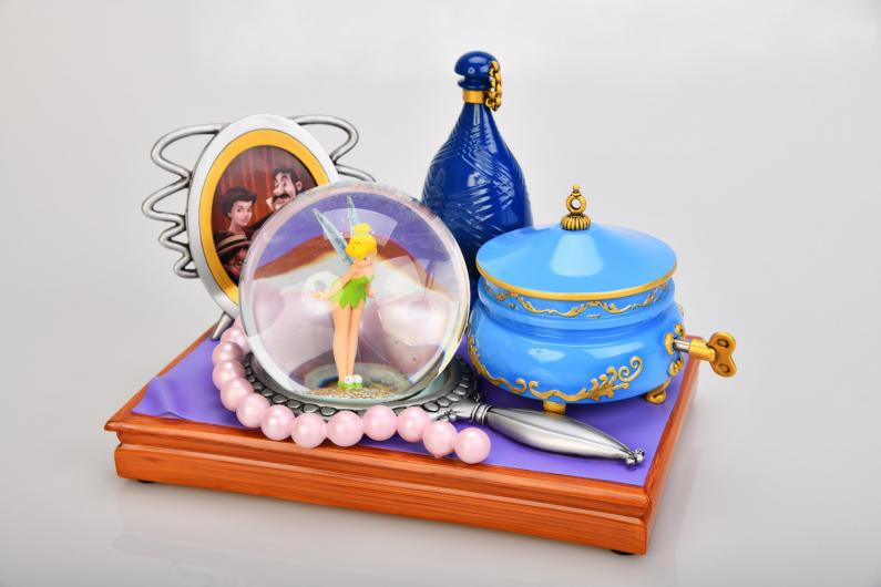 Snow globe clochette