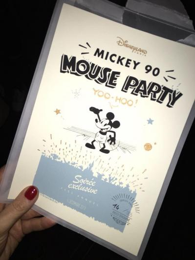 Soiree mickey 90