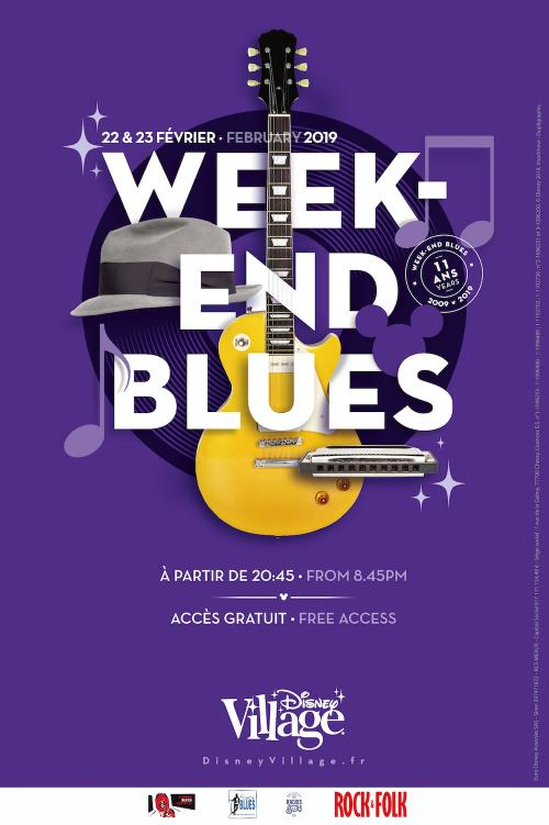 Week end blues disney village 2019