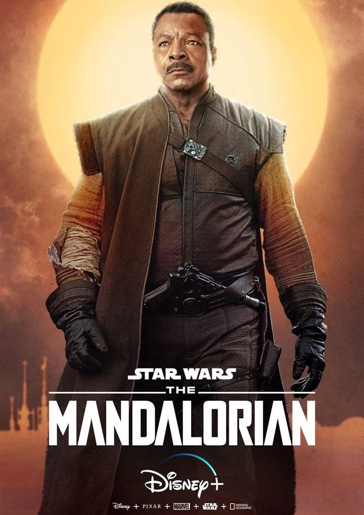 The mandalorian Greef Karga