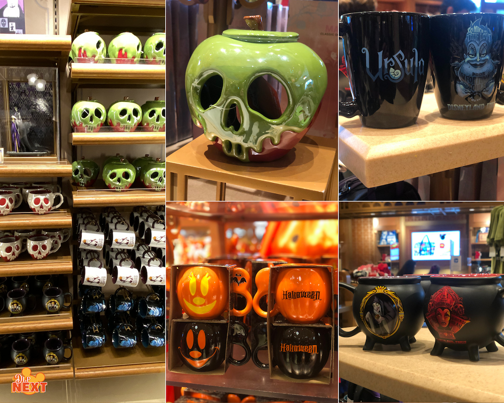 Article Merchandising Halloween Disneyland Paris