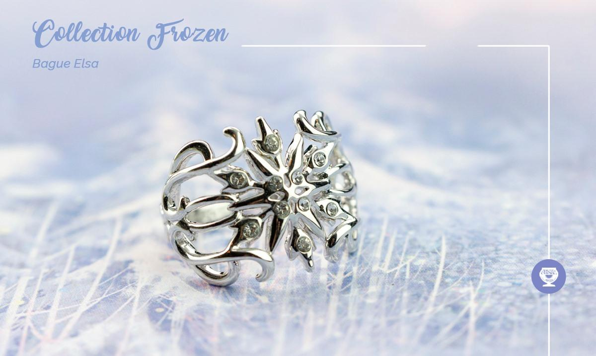 Bague Elsa Frozen Bijoux Arribas France