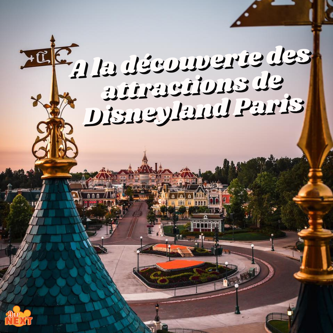 A la de couverte des attractions de disneyland paris