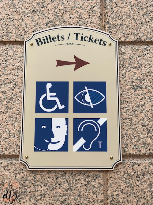 Accessibilite disneyland paris