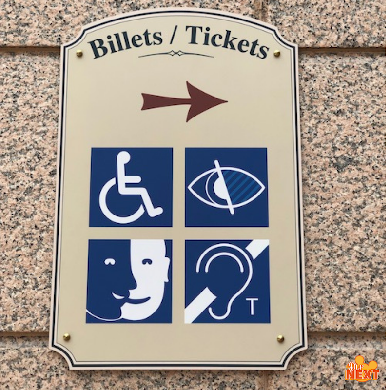 Accessibilite handicap disney