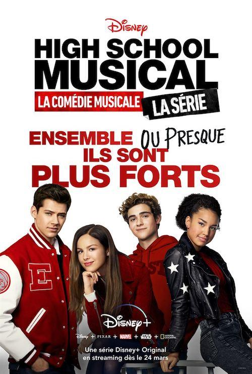 Affiche high school musical la serie