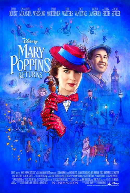 Affiche officiel mary poppins