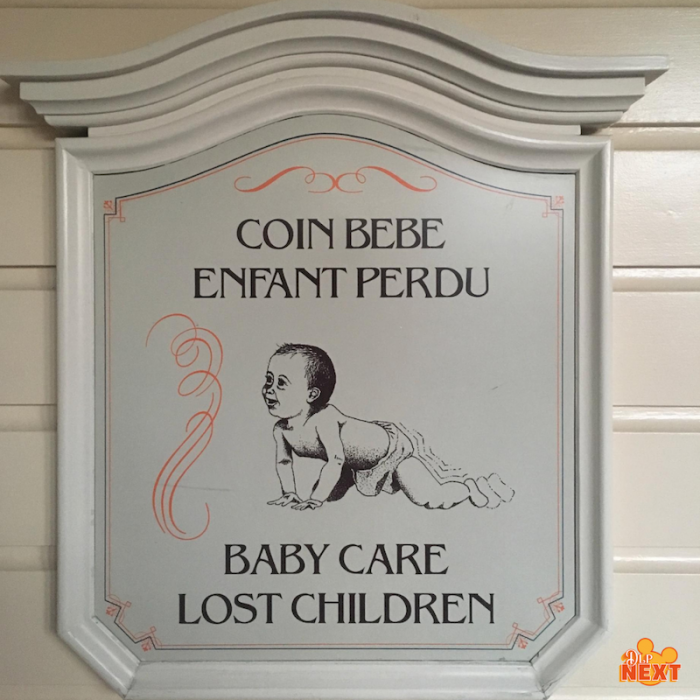 Baby care center baby switch