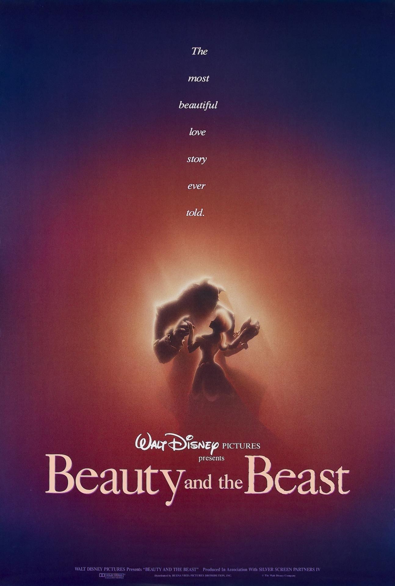 Beauty and the beast poster affiche