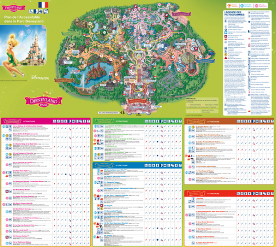 Plan Parc DisneyLandParis