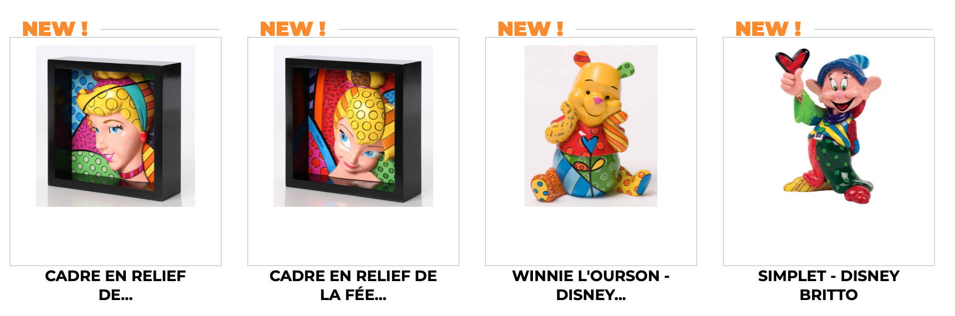 Cadeau City Disney Britto
