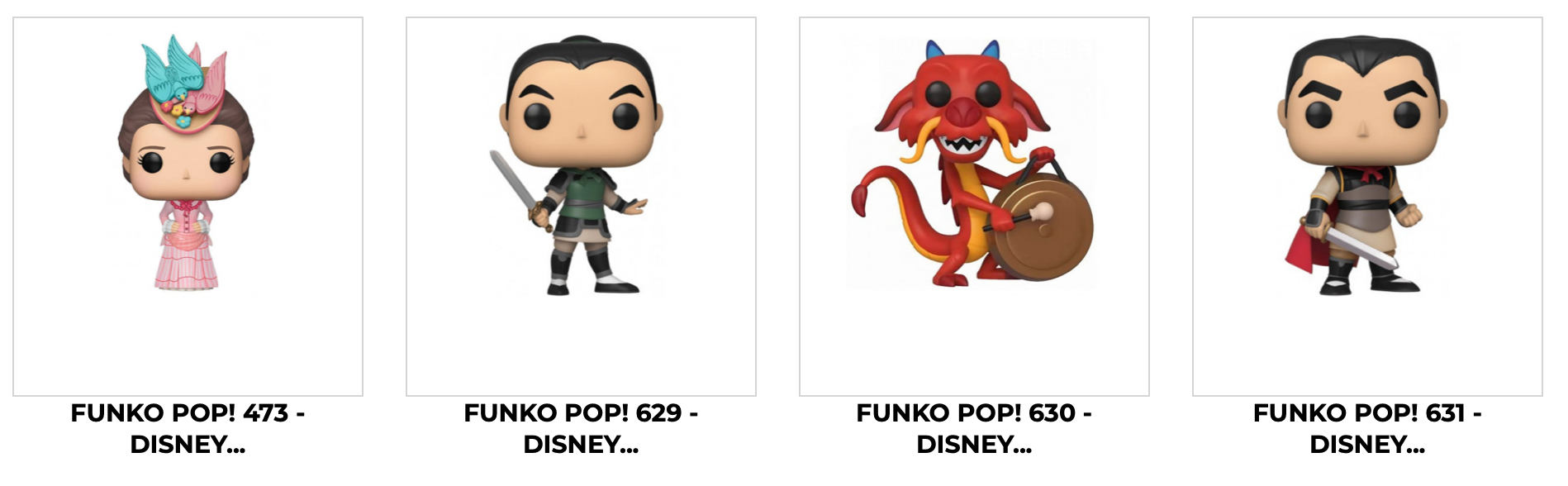 Disney Funko POP Cadeau City