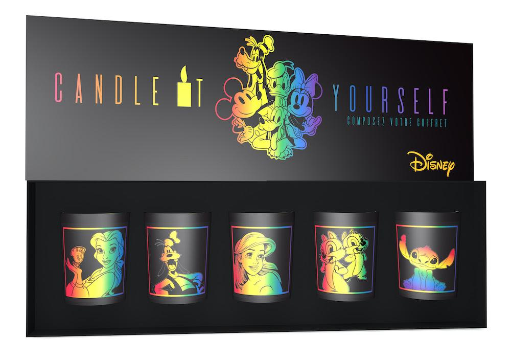 Coffret candle it yourself Maison Francal Disney