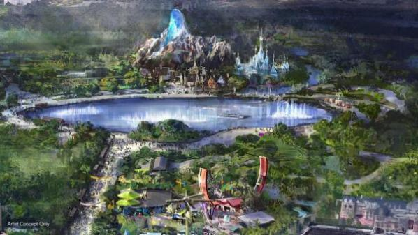 Concept art sur frozen land