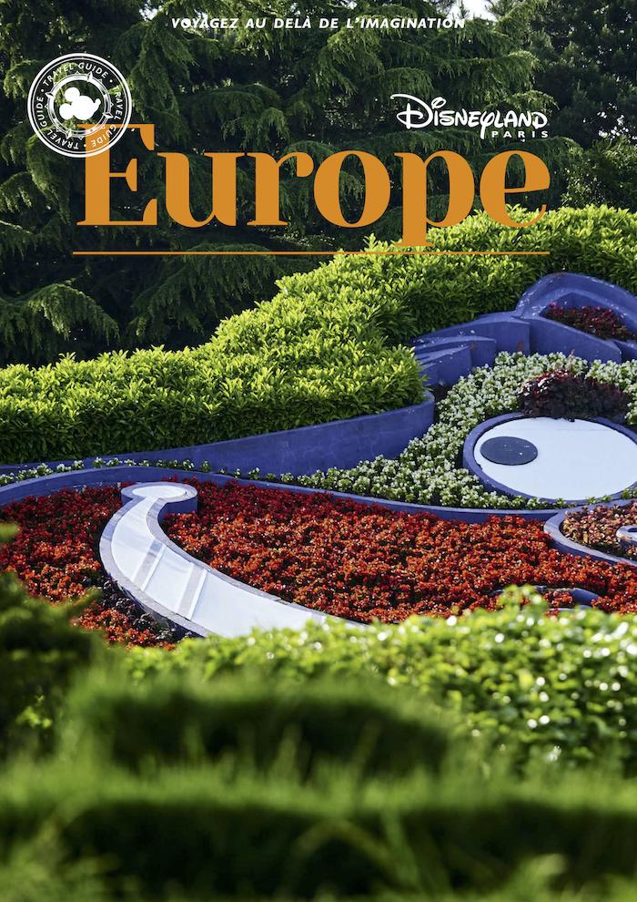 Cover guide disneyland paris europe