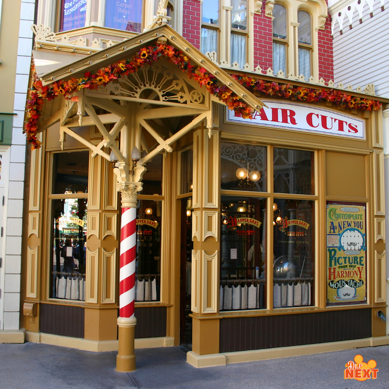 Dapper dan s hair cuts le barbier a disneyland paris