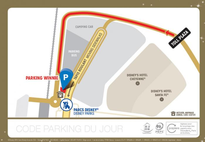 Disney parking+ plan
