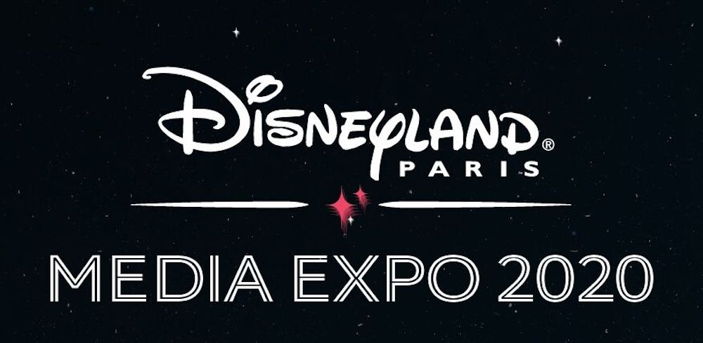 Disneyland paris media expo 2020