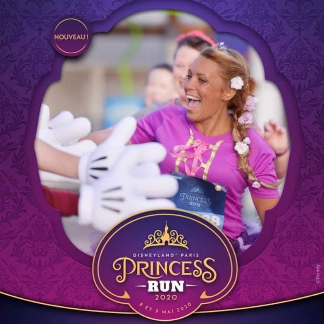 Disneyland paris princess run edition 2020