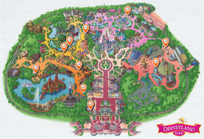 Zone fumeurs Disneyland Paris
