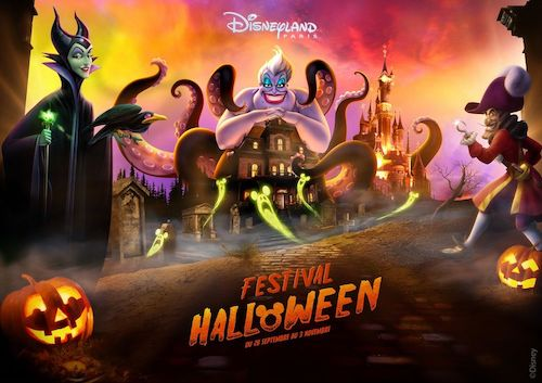 Festival halloween 2019 disneyland paris