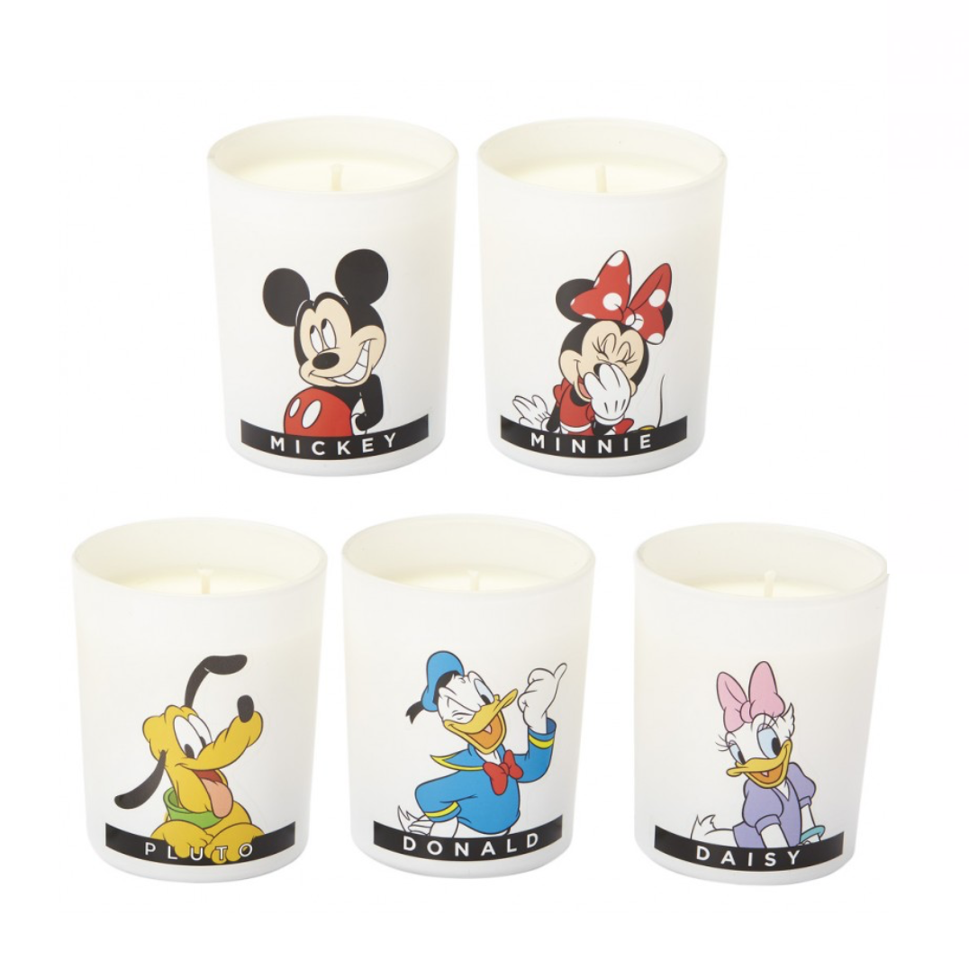 Bougies Francal coffret mickey et ses amis