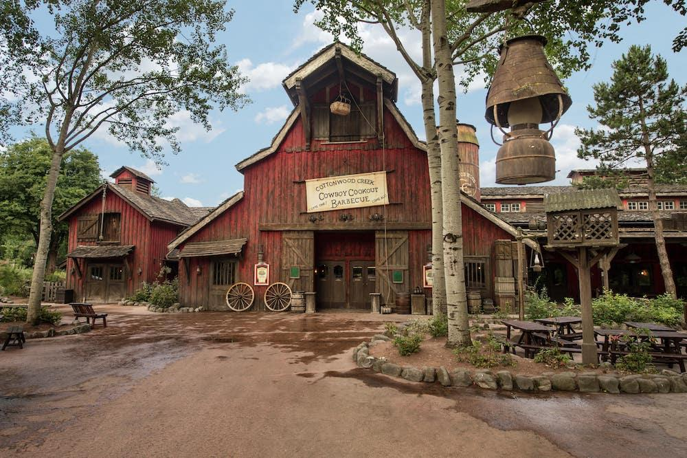 Cowboy Cookcout Barbecue Frontierland