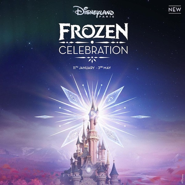 Frozen celebration disneyland paris 1