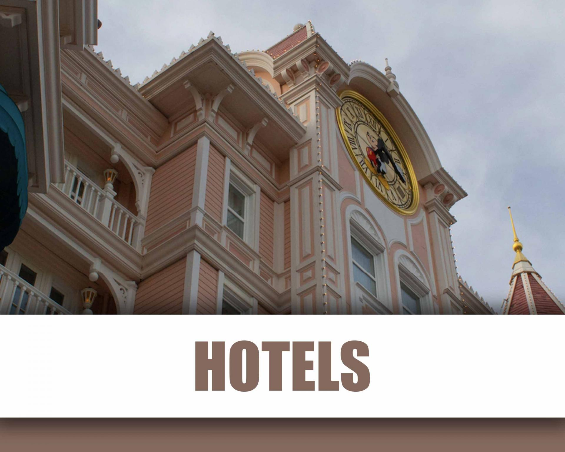Hotels Disneyland Paris