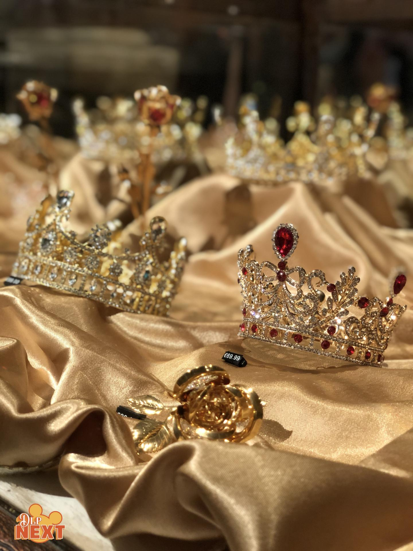 Couronnes Diademes Princesses Arribas Disneyland Paris