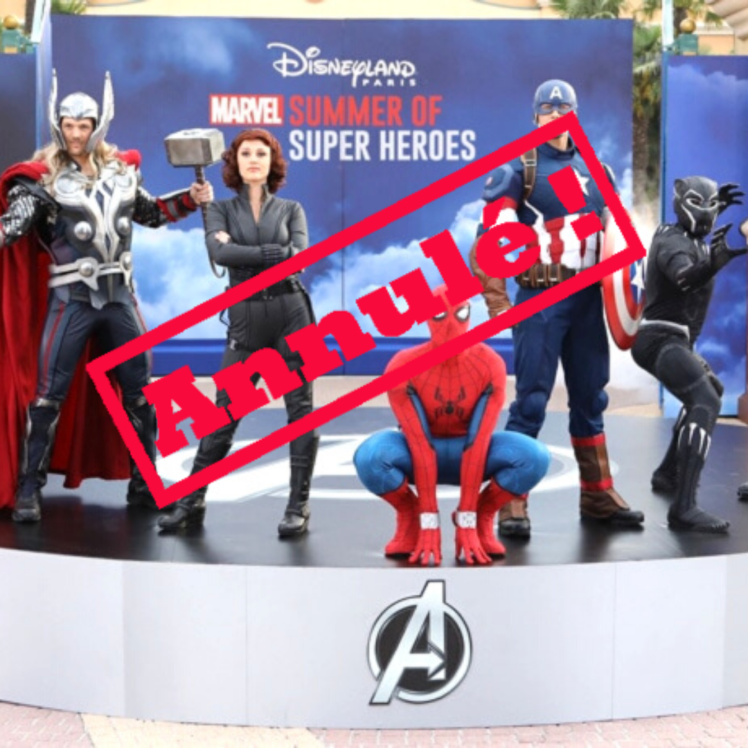 La saison marvel a disneyland paris