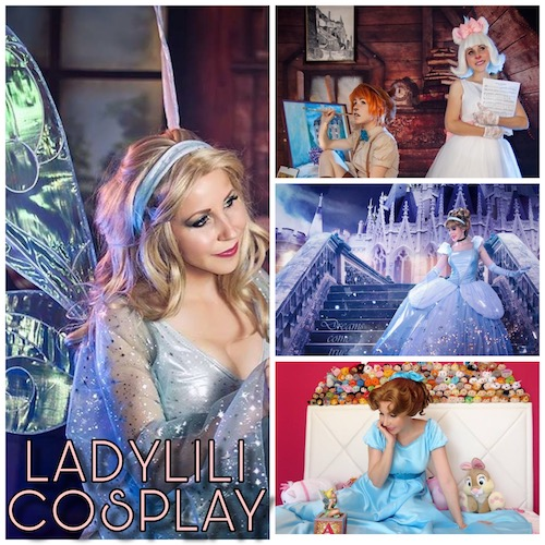 Ladylili cosplay