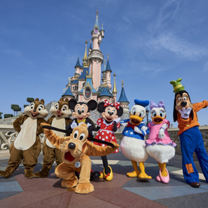 Les points selfie disneyland paris